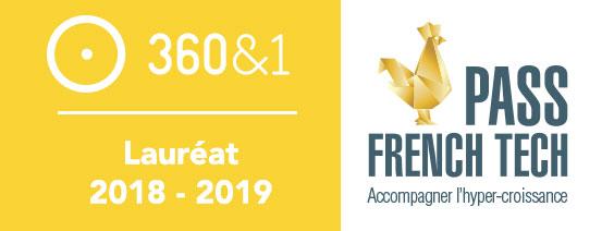 360&1 décroche le Pass French Tech 2018 – 2019 [communiqué de presse]