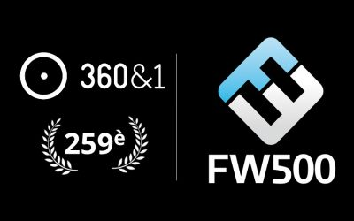 360&1 nommée 259ème du classement FW500