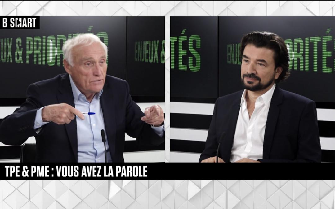 [Interview Video] Olivier Ricard, CEO de 360&1 invité de Jean-Marc Sylvestre dans «Enjeux & Priorités» sur BSmart.tv – 12 juillet 2021